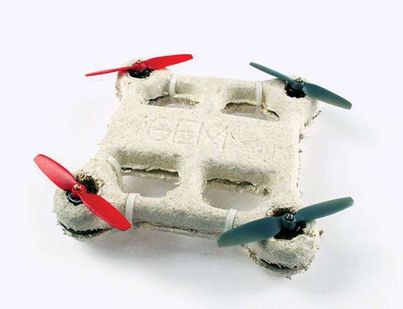 Biodegradable NASA Drone