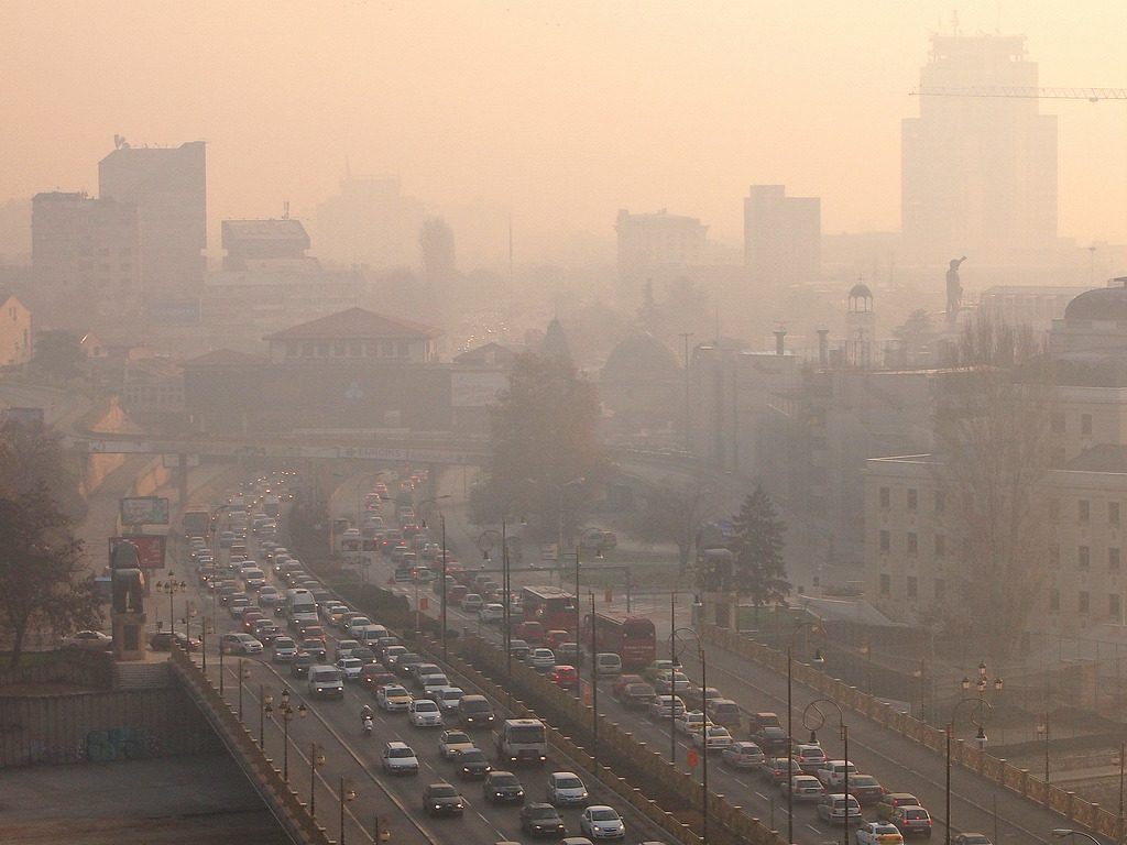 Air Pollution in Skopje