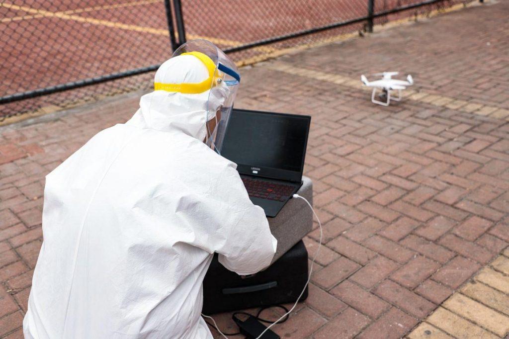 Drones vs COVID-19