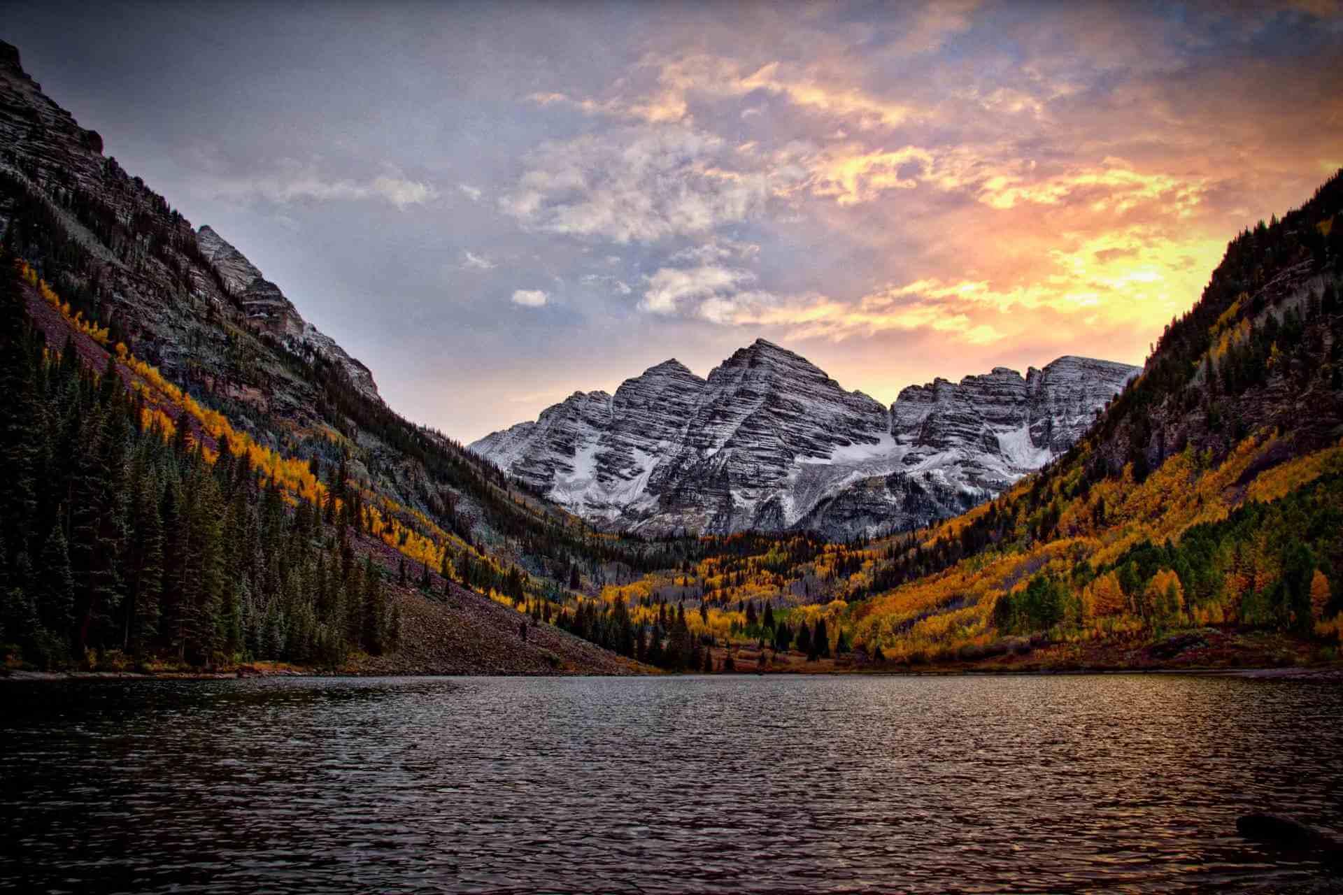 Colorado by drone